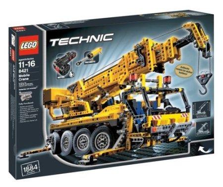 Caixa do conjunto Lego 8421